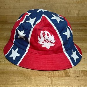 Vintage Rare Hank Williams Jr Bocephus Bucket Hat